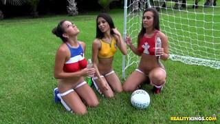 Hot girls preparing for EURO 2016 thumb