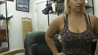 Busty big ass babe gets her pussy pounded by pawn guy thumb