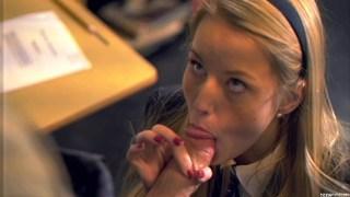 Sweet schoolgirl deflowered by her teacher thumb