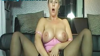 Big Titty Webcam Girl Squirts All Over Her Camera thumb