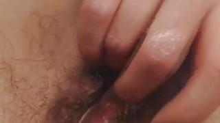 Nerdy Nice Tits Babe Self Fuck on Cam thumb