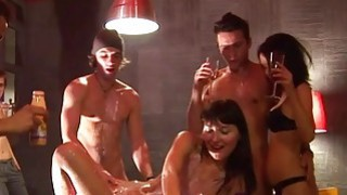 Super delicious and steamy party sex scene thumb