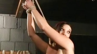 Superb Redhead Whore Gets Tied And Dominated thumb