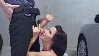 To get her out of the way was to give a hard cock to suck and fuck thumb