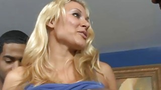 Big boobs blonde_babe interracial gangbang on the couch thumb