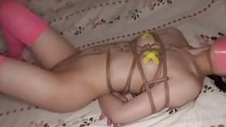 Jav Teen Debutante Rope Bound Teases With Her Spread Labia Extremely Cute thumb