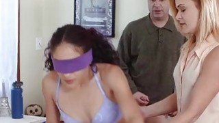 Teen Liv Revamped needs some training from MILF mom to fuck right thumb