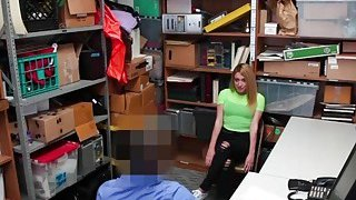 Alexa Rayes tight pussy getting railed on the back office thumb