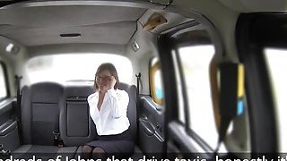 Hot mom rims and fucks fake taxi driver thumb
