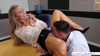 The hottest teacher Nicole Aniston wants cock for her blessing thumb