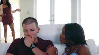 Hot ebony mom_Yasmine bangs_with Myas boyfriend thumb