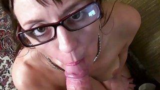 USAwives Mature Lady Blowjob and Toy Masturbation thumb