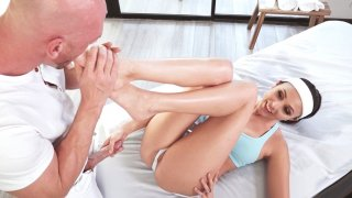 Ariana Marie getting massaged by Johnny Sins thumb