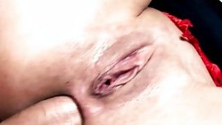 Teen brunette wants hardcore anal intrusion with a big dick thumb