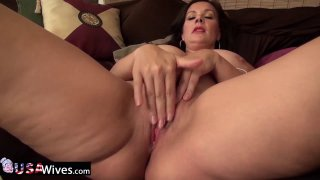USAwives Solo Matures Toy Masturbation Compilation thumb