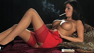 Smoking hot solo in red thumb