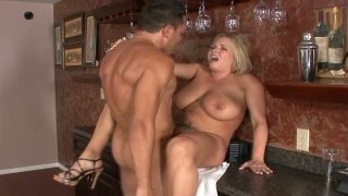 Fat and sexy blonde Rachel Love loves all styles of sex thumb
