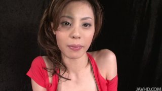 Fuck voracious chick Natsumi_chooses sex toy for pleasing her fluffy pussy thumb