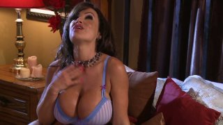 Young and pretty Allie Haze wants to dominate experienced milf Lisa Ann this time thumb