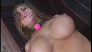 Filthy slut Eve Lawrence gets humiliated and fucked hard thumb