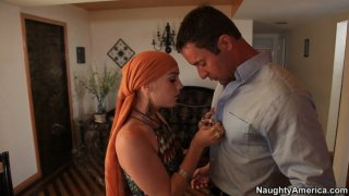 Horny chick Dani_Jensen helps to clean karma by giving a blowjob thumb