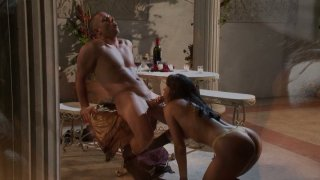 Glamorous MILF India Summer gets laid with her buff stud thumb