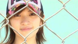 Cute Japanese teen Ryoko Tanaka loves working on camera thumb