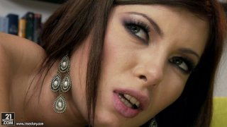 Using dildos Donna Bell is ready to please the other chick right away thumb