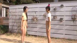 Yukari Nakai is playing games with her friend thumb