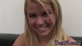 Hot young blonde teen masturbating Young Zorah gets her thumb