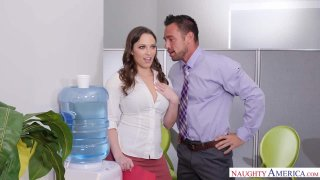 Horny Lily Love Talks Office Orgies at the Water Cooler thumb