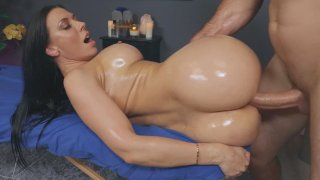 Bit of Rubbing Lot of Poking on Rachel Starr's Massage! thumb