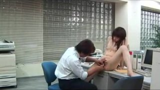Slim Japanese Cutie With A Sweet Ass Has Fun With A Guy In thumb