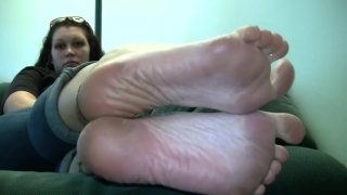 Lacey's Candid Stinky Soles Part 5 thumb