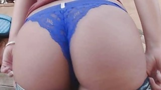 Evas sweet pussy bangs hard and deep thumb