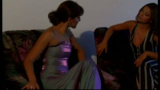 Hussy slut Silvia Lancome practices 69 position in an awesome lesbian sex video thumb