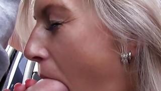 Mofos Hot blonde sucks dick for a lift thumb