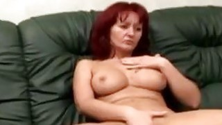 Horny redhead caregiver needs a dick for her hungry cunt thumb