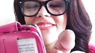 Mofos Sexy teen takes some cock sucking selfies thumb