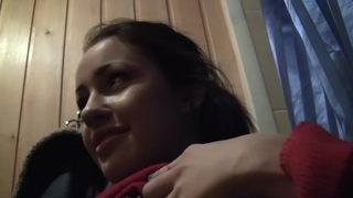 Izi Ashley in two guys fuck izi in a lusty pick up sex vid thumb