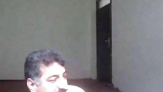 Iranian horny girl blowjob and prostate massage then fucked thumb