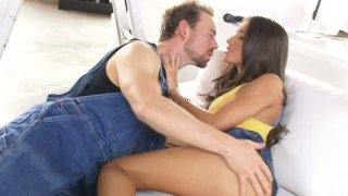 Redneck motherfucker eats and fingers gorgeous Lizz Tayler thumb