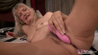 USAwives Great Mature Hairy Pussies with Toys thumb