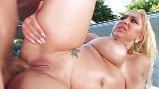 Big assed Nina Kay in an intense anal fuck delight thumb