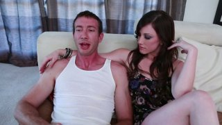 Jennifer White gets her pussy and anus fingerfucked thumb