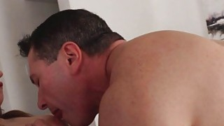 Elektra got face fucked_and drilled with a thick cock thumb