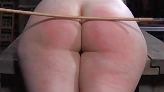Sexy whipping for beautys booty thumb
