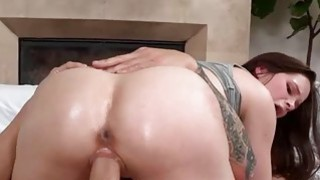 Pretty babe Jenna Rose getting banged by hard meat thumb
