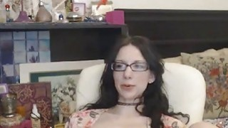 CUMWITHSLUTS COM Nerdy StepDaughter on Cam thumb