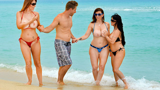 Charlee Chase & Holly Halston & Sara Jay & Levi_Cash in Seduced by a Cougar thumb
